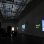 Salle vidéo - oeuvres de 1011, Léonard Müh/Ti-sya Petro, Giorgia Valenti, Claire Nicolas-Fioraso, Martine Arnaud-Goddet. Crédit photo: Joseph Caprio