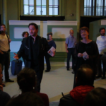 Expo Les Nouveaux Mythes - Performance Theatrale POUR UN EMPIRE de Stéphane Müh